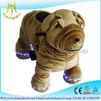 Wholesale Hansel walking stuffed animals zippy battery kids rides from china suppliers