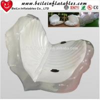 Wholesale Giant PVC inflatable seashell pool float from china suppliers