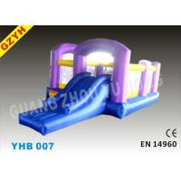 Buy cheap EN14960 Open Toddler Inflatable Jumpers Bouncers Slide YHB-007 for Indoor / from wholesalers