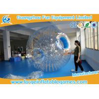 Wholesale Transparent Inflatable Human Hamster Ball Body Zorb Ball For Adult / Small Kids from china suppliers