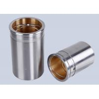 Carbon Steel TOB Bi Metal Bearings / CuPb24Sn Steel Bushings