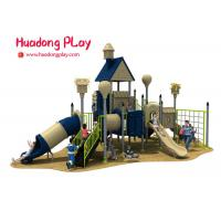 Buy cheap Children Outdoor Playground Slides , Plastic Material Kids Outdoor Playground from wholesalers