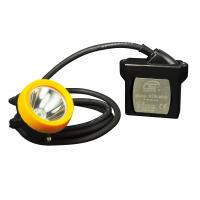Quality 1.6M cable Industrial Lighting Fixture , mining cap lamps led 15000 Lux for sale