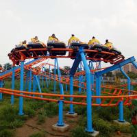 Wholesale 290m Amusement Park Roller Coaster / Family Childrens Roller Coaster from china suppliers