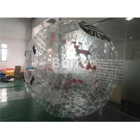 Wholesale Personal Outdoor Inflatable Toys Large PVC Inflatable Body Zorb Ball Soccer from china suppliers