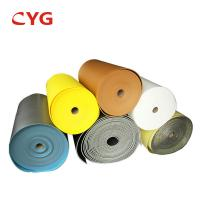 China 10 / 12 /  13 / 15 mm Polyethylene Foam Roll For HVAC Insulation on sale