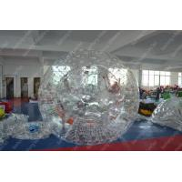 China Waterproof 0.8mm PVC Inflatable Zorb Ball , Human Hamster Ball Rental on sale