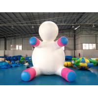 Quality Anti - UV Material Standing Inflatable Unicorn Cartoon For Swimming Pool for sale