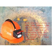Wholesale 4500lux Cordless Cree Miner Hard Hat With Light , Mining Helmet Light MSHA from china suppliers