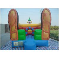 Wholesale Clown Inflatable Bouncer , Loving Bouncer Shoes With Mini Size from china suppliers