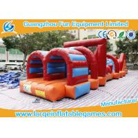 Wholesale Great Commercial Inflatable Obstacle Course Bounce House 15*3.2*2.4m from china suppliers