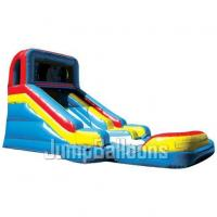 Wholesale Inflatable Giant Water Slide, Slide N\' Splash With Detachable Pool (J4024) from china suppliers
