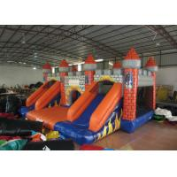 Wholesale Classic inflatable castle jump house colourful inflatable bouncy double slide combo house for kids under 15 years old from china suppliers