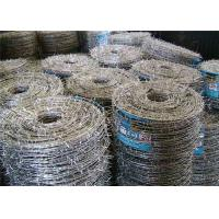 Wholesale Weave Galvanized Stainless Steel Barbed Wire For Grass Boundary / Railway from china suppliers