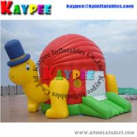 Wholesale Turtle Bouncer PVC inflatable jumper inflatable house Inflatable Bouncey Castle BO014 from china suppliers