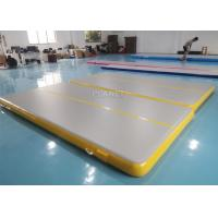 Wholesale Inflatable Air Track Inflatable Gym Mat 4x2x0.2m Physical Exercise Air Tumble Track Gymnastics Training Use from china suppliers