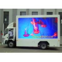 China Full Color P6 Outdoor Advertising Led Display Truck Mounted High Brightness on sale