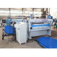 Wholesale Automatic Galvanized Steel Roof Panels Cold Roll Forming Machine from china suppliers