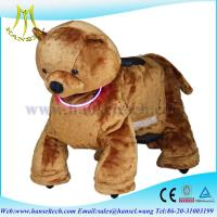Wholesale Hansel you tube animals ride on electric plush toys ride from china suppliers