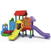 Wholesale Children  playground  Outdoor plastic toy  plastic slide for kids from china suppliers