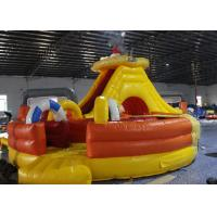 Wholesale Light Colorblow Up Jump House , Kids Bouncy Castle With Slide Combo Tunnel from china suppliers