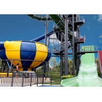 Quality Huge Space Bowl Water Slide Playground / Commercial Water Slide Equipment for sale