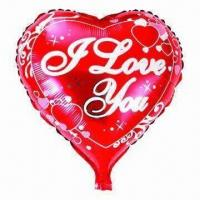 Wholesale 18-inch Heart Helium Balloon for Parties, Wedding, Advertising, Promotions or Gifts Used from china suppliers