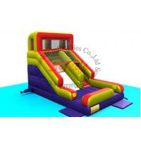Wholesale inflatable durable material 0.55 mm pvc tarpaulin happy slide from china suppliers