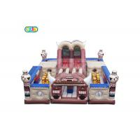 Wholesale Capacity 32 Kids Inflatable Bounce House Combo Customized Size With Blower from china suppliers