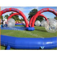inflatable zorb ball track