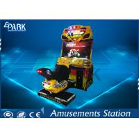 110 / 220V Racing Game Machine Coin Operated 11 Race Track FF Motor