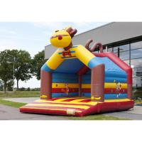 Wholesale Cute Animal Design Inflatable Bounce House Trampoline Theme Park CREEZ from china suppliers