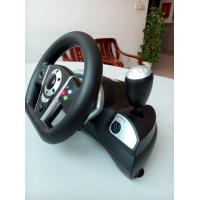 Wholesale 2 In 1 Bluetooth Dual Vibration Racing Games Steering Wheel For P3 / PC from china suppliers