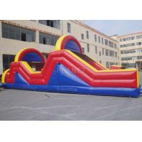 Wholesale Indoor / Outside Inflatable Obstacle Course Training Course Equipment from china suppliers
