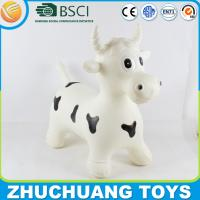 Quality giant inflatable toy plastic milk cow for adults for sale