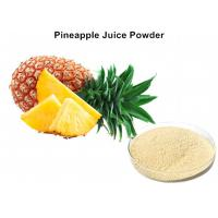 Wholesale Fresh Pineapple Fruit Juice Powder Beverage Additive Into The Metabolism And Eliminate Fatigue from china suppliers