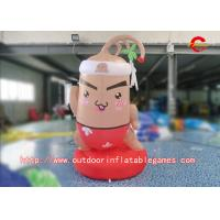 Buy cheap PVC HD Inkjet 2m Height Inflatable Cartoon Characters Advertising Inflatable from wholesalers