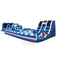 China Giant inflatable playground WSP-305/including slides,trampolines and obstacles on sale
