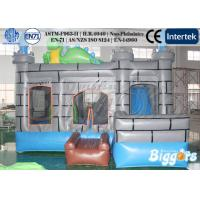 Wholesale Dinosaur 0.55mm PVC Commercial Inflatable Castle / Combo For Kids from china suppliers