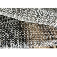 China Blanket Mesh / Foil Stainless Steel Knitted Fume Filter Demister Mesh Long Lifespan on sale