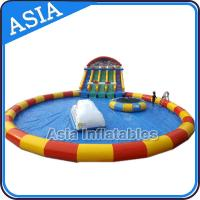 China Moving Water Park , Inflatable Water Park , Inflatable Amusement Park on sale