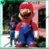Buy cheap 5m Inflatable Mario,Inflatable Mario Cartoon,Giant Inflatable Mario from wholesalers