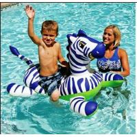 Wholesale Inflatable Float- Zebra Kids Inflatable Pool Rider (FG-IF-009) from china suppliers