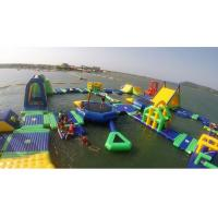 China Amazing And Crazy Inflatable Water Park , Blow Up Water Slide For Adults on sale