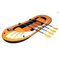 Wholesale Eco Friendly 4 Person Pvc Inflatable Boat Set With 4 Set Oars from china suppliers