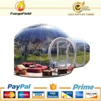 Wholesale PVC tarpaulin or Nylon bubble tent Serurity-Guarantee inflatable tent for anywhere from china suppliers