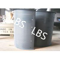 Wholesale Hydraulic / Electric Winch Drum Lebus Sleeve 100-5000M Rope Capacity from china suppliers