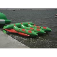 Wholesale Tarpaulin Inflatable Flying Fish Rafts , Inflatable Water Tubes For Lake from china suppliers