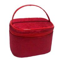 Wholesale Custom Cosmetic Clear PVC Bags Red  from china suppliers