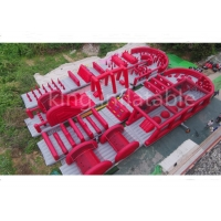 Wholesale 50m Long 5k Inflatable Obstacle Course Children Amusement Park from china suppliers